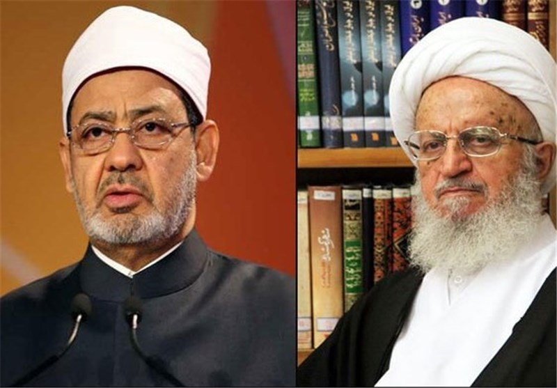 آیة الله مکارم شیرازی یثمن مواقف شیخ الأزهر فی حرمة دماء المسلمین