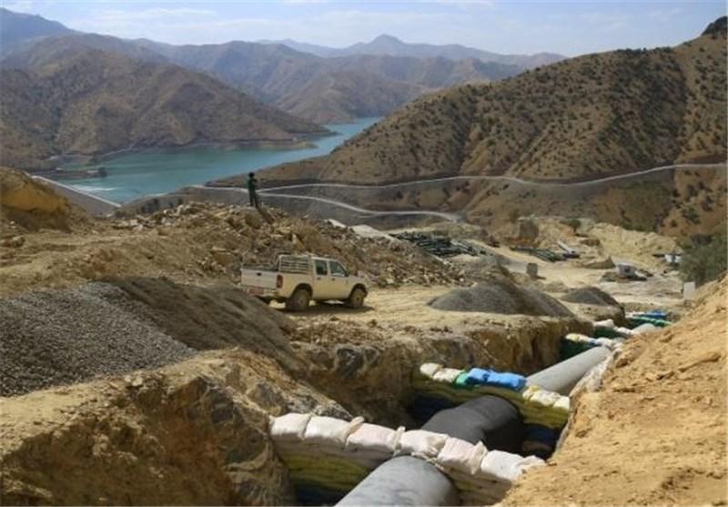 انتقال آب به شهر سنندج