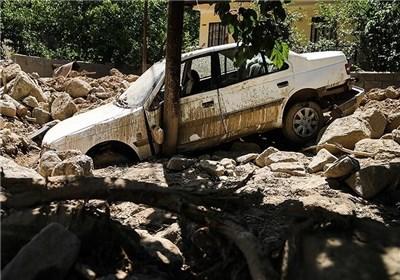 روستای سیجان پس از سیل دوهفته گذشته