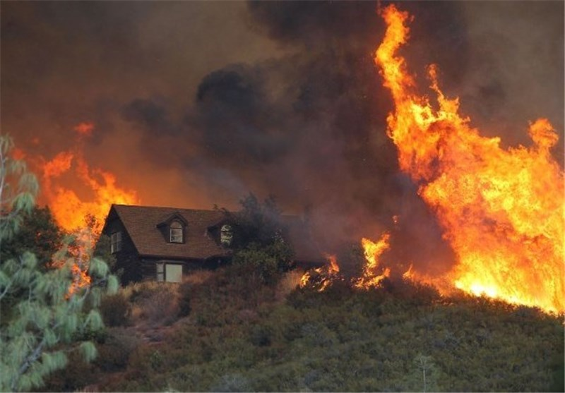 California Wildfires Torch 134,000 Acres