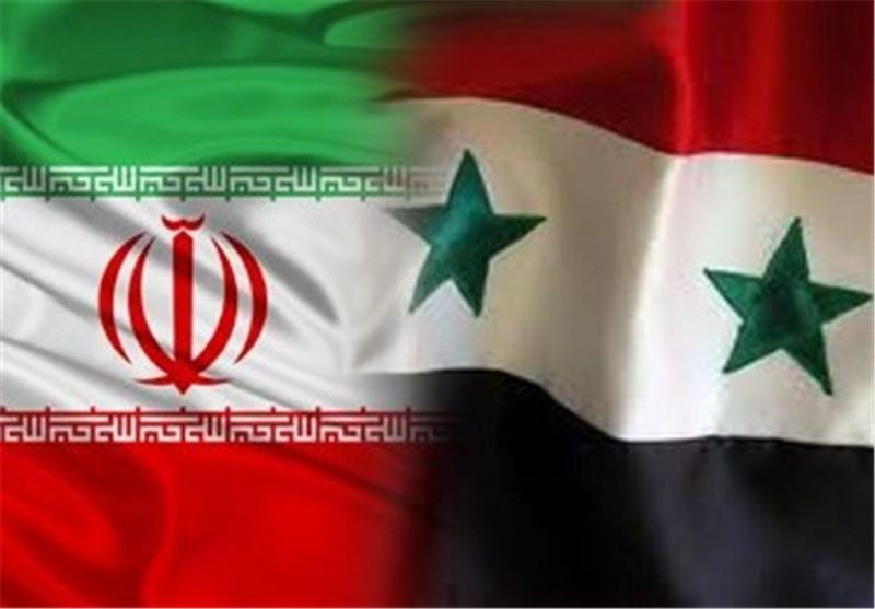 پرچم ایران سوریه