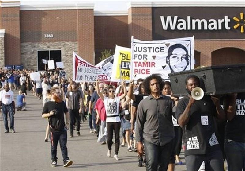 آمریکا تظاهرات سیاه