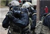 استقرار نیروهای ویژه با تجهیزات کامل در خیابانهای اطراف مجلس