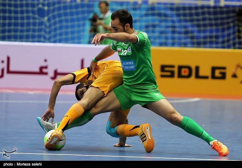 قهرمانی تیم تاسیسات دریایی ایران در مسابقات جام باشگاه های فوتسال آسیا - اصفهان