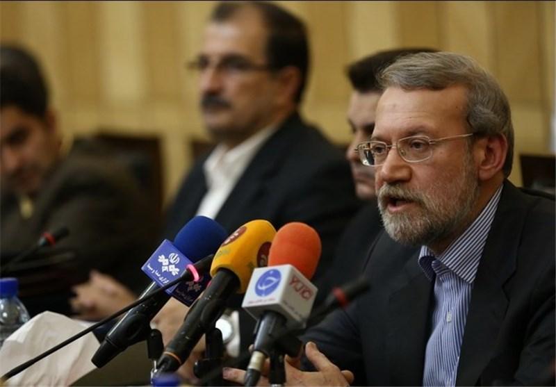 لاریجانی : الضجة المفتعلة بشأن منشأة بارتشین تهدف الى التأثیر على الساحة الدولیة