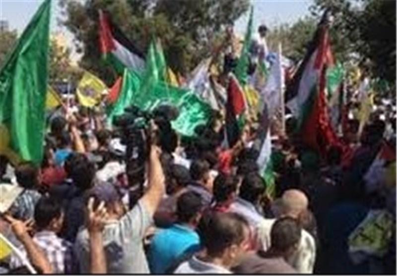 تشییع جثمان الشهید الدوابشة الاب وسط صیحات تطالب بالانتقام