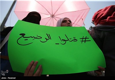 تشییع جثمان سعد الدوابشة فی الضفة الغربیة