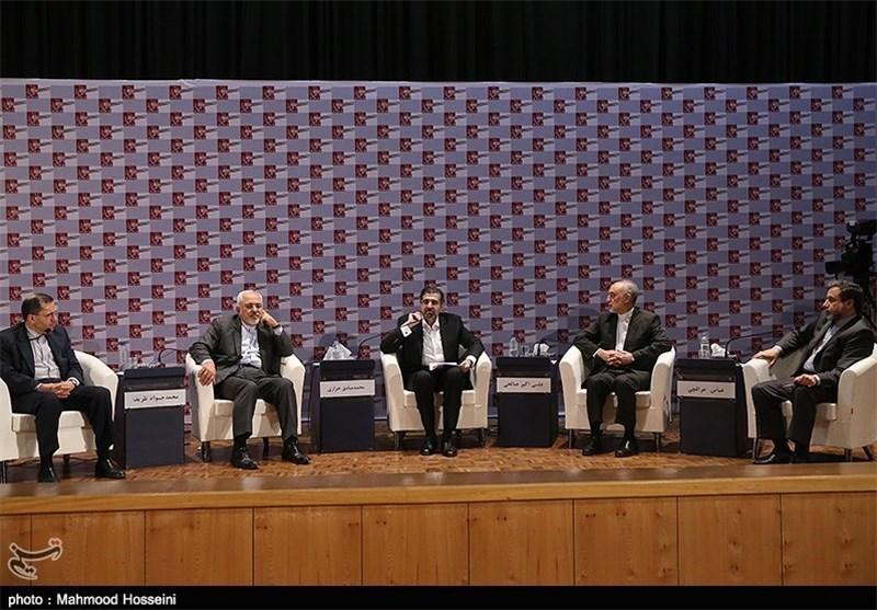 وزیر الخارجیة: حضور شعبنا فی الساحة أدی الی اثمار المفاوضات النوویة فی العاصمة النمساویة