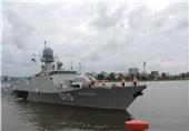 Russian Flotilla Docks at Iranian Caspian Port