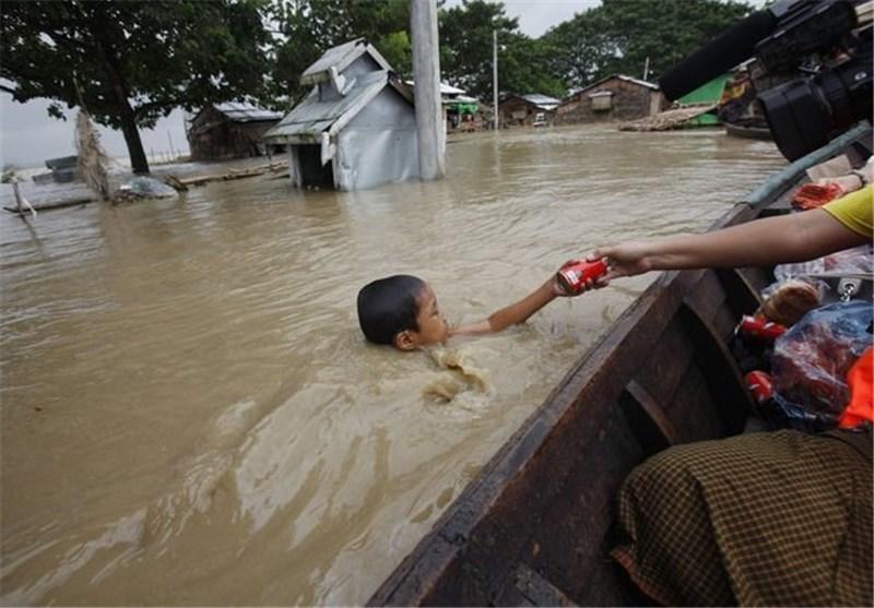 Floods Kill 31, Displace 339,742 in Myanmar