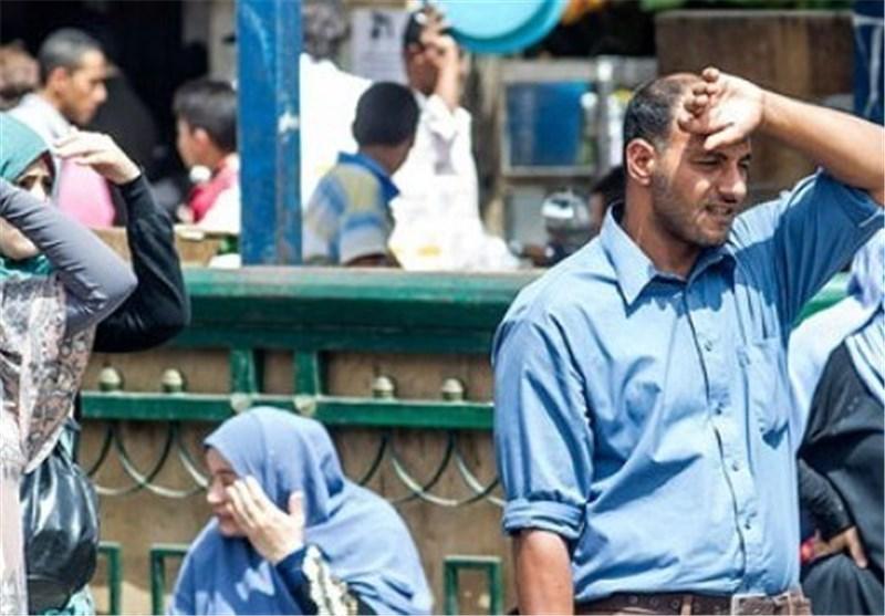 مووج گرماد در مصر