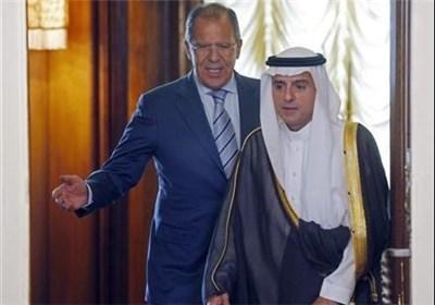 دیدار لاوروف و الجبیر در مسکو