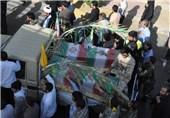 پیکر پاک شهیدان موسوی و شجاعی در بهبهان تشییع میشود