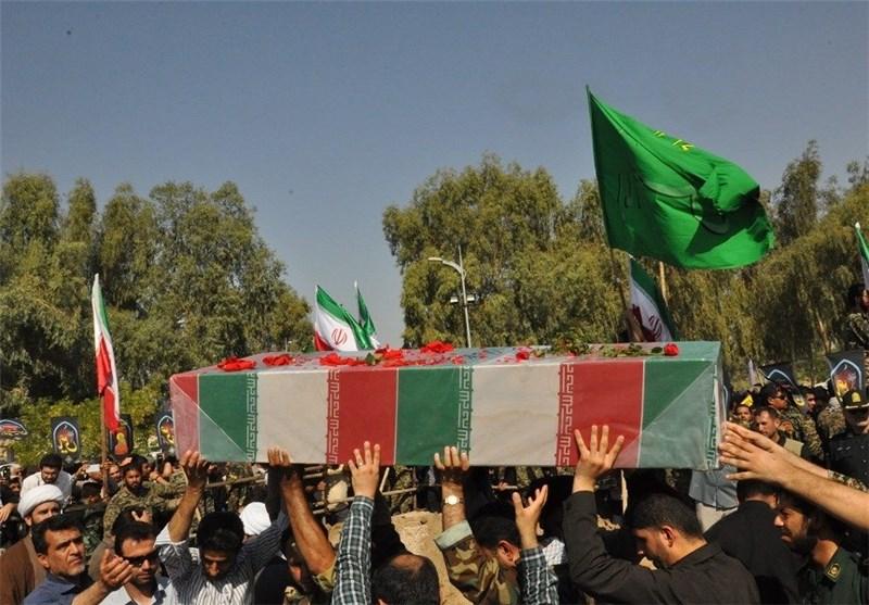 پیکر پاک شهید گمنام دفاع مقدس در بهبهان تشییع شد