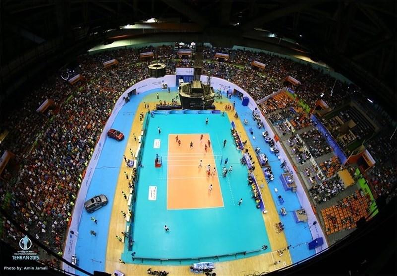 سالن 12 هزار نفری آزادی، آماده میزبانی از لیگ ملتهای والیبال + عکس