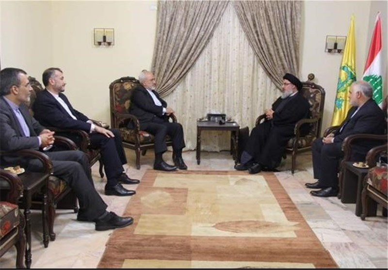 Zarif Reiterates Iran's Unwavering Support for Resistance Front against Israel