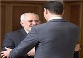 Iran's FM Zarif, Syria's President Assad Meet in Damascus