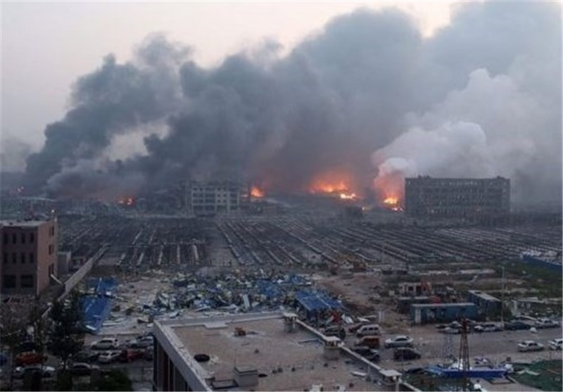 Chemical Blast Rocks Eastern Chinese City
