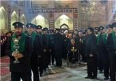 12 هزار خادم افتخاری در حرم حضرت معصومه(س) فعالیت میکنند