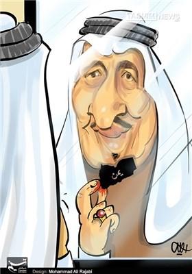 کاریکاتور/ توهم خلیفه درباره یمن!