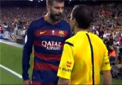 جرارد پیکه داور بارسلونا