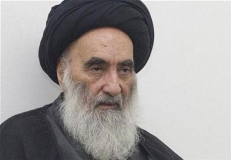 انتشار صورة جدیدة للمرجع الدینی آیة الله السیستانی