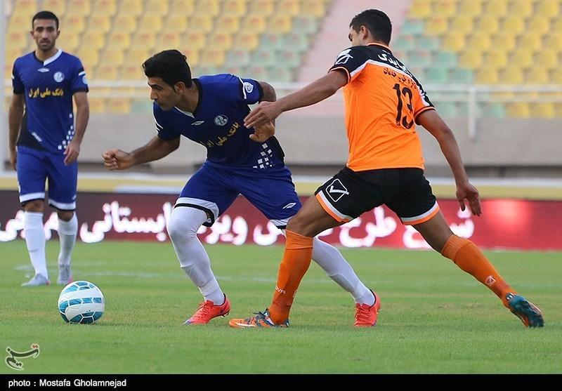 تساوی یک نیمهای استقلال خوزستان و سایپا