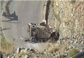 یمن عربستان انهدام کاروان نظامی عربستان