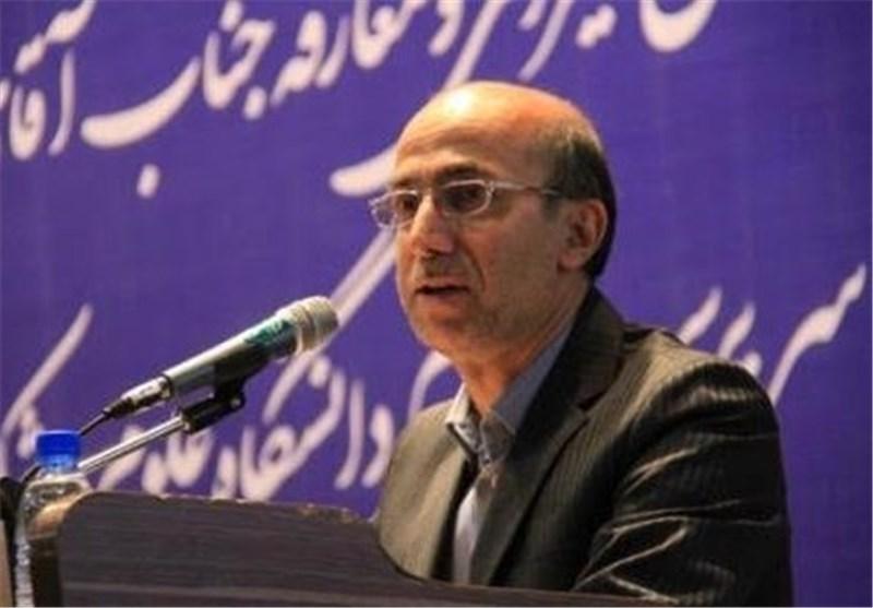 غلامرضا اصغری رییس دانشگاه علوم پزشکی اصفهان