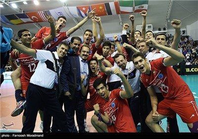 Iran Finishes Third at FIVB Volleyball U-19 World Championship