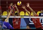 مسابقات قهرمانی والیبال نوجوانان جهان - ایران و روسیه