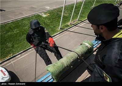 Iran's Counter-Terror Special Force Training in Tehran