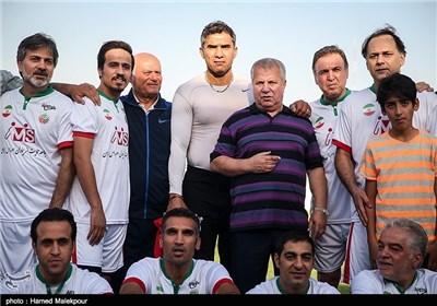 ستارگان فوتبال و احمد عابدزاده و علی پروین