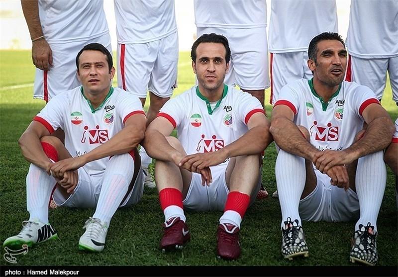 علی کریمی و مهدی هاشمی نسب