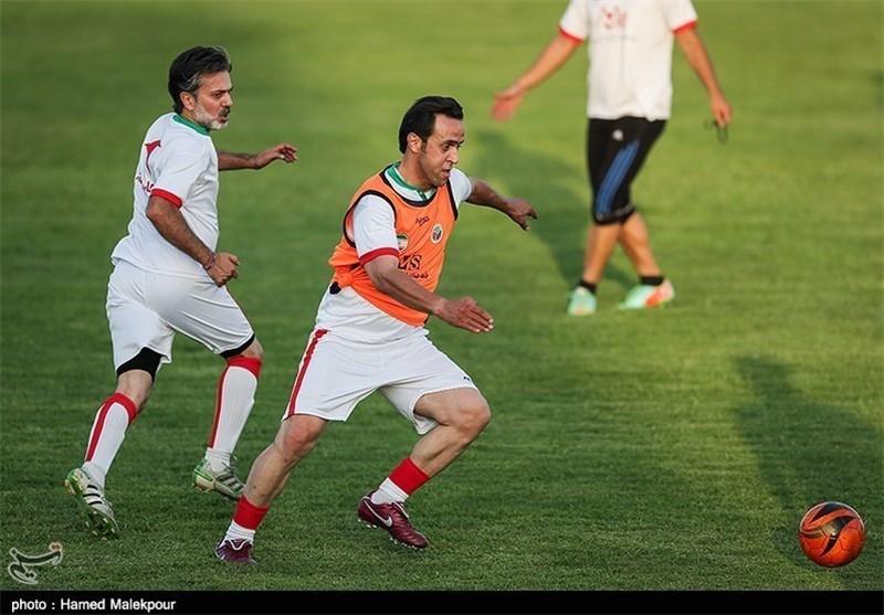 تمرین ستارگان و علی کریمی