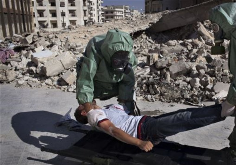 Takfiri Militants Fire Poison Gas in Aleppo: Report