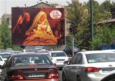 مردم در انتظار اکران فیلم محمد (ص)