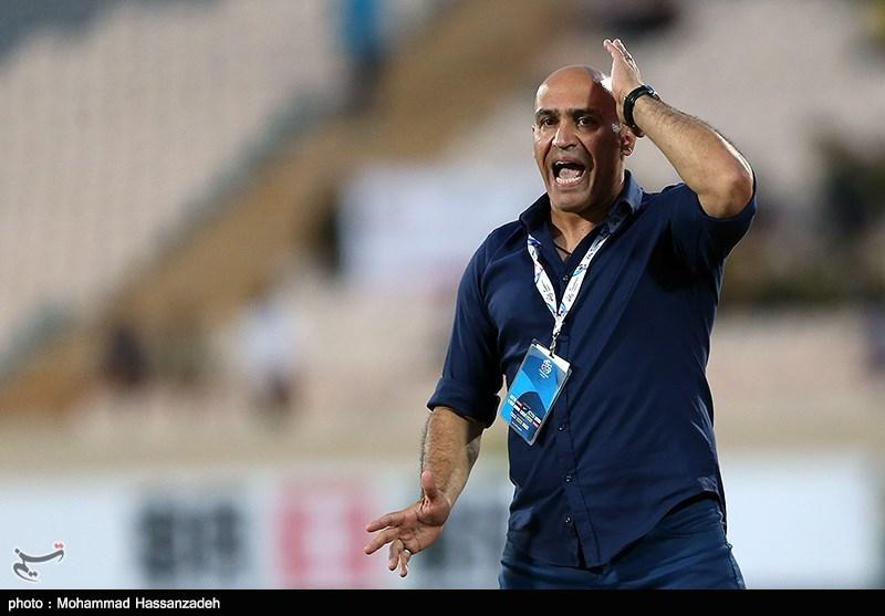 دیدار تیم های فوتبال نفت تهران و الاهلی امارات