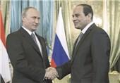 پوتین و السیسی