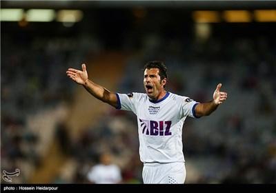 دیدار تیمهای فوتبال ستارگان ایران و جهان