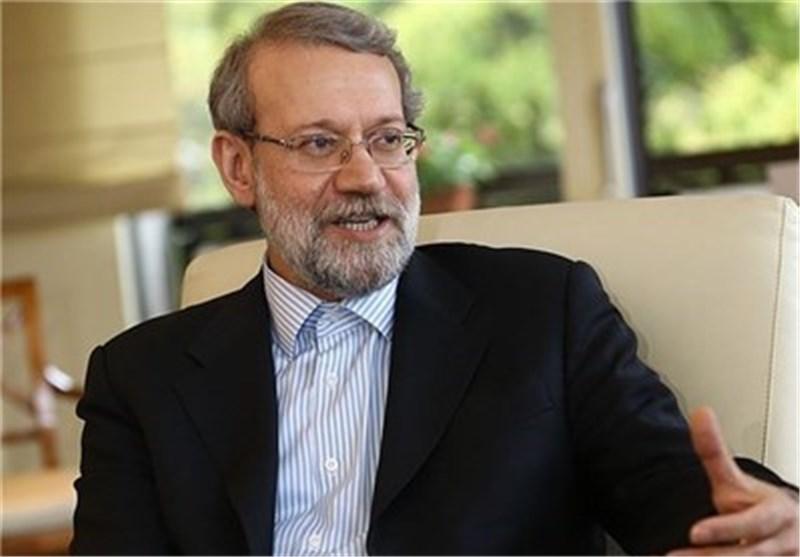 لاریجانی: ایران تری من واجبها دعم الشعب السوری وحکومته حتی یتم توفیر أرضیة السلام فی سوریا