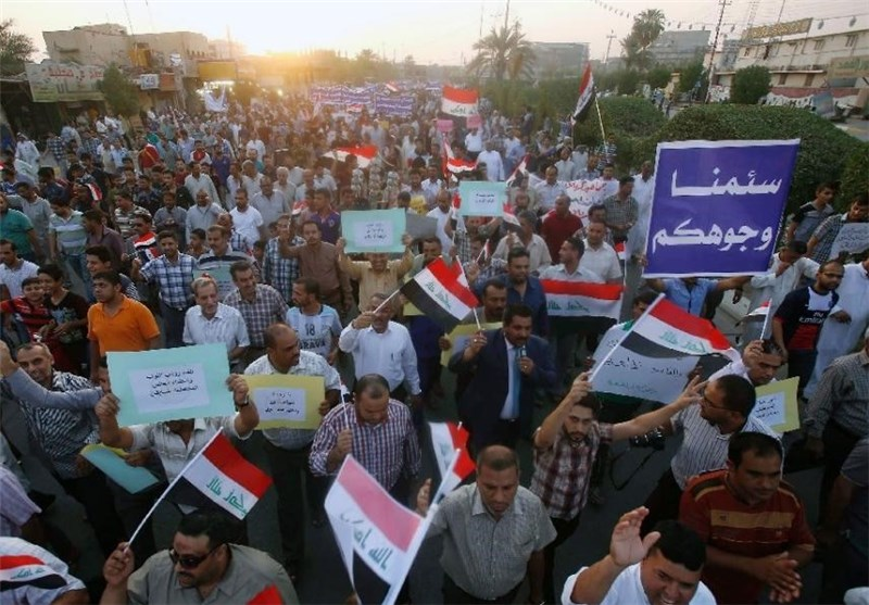 Iraqi People Demonstrate against Violation of Sovereignty by Turkey