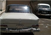پلاک ماشین قدیمی اتومبیل