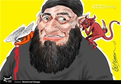 کاریکاتور/ داعش در تاریکی جهل ...