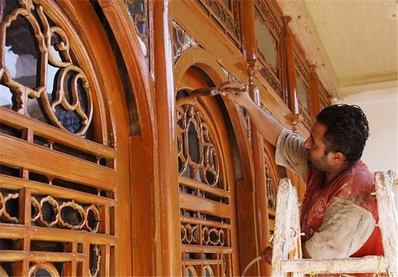مرمت خانه تاریخی در شیراز