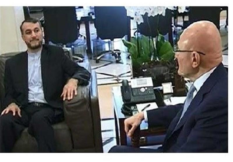 عبد اللهیان خلال لقائه بری وسلام: ندعم بقوة الحلول السیاسیة فی لبنان