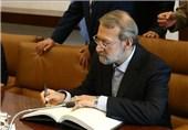 لاریجانی سالگرد پیروزی رزمندگان مقاومت را به نبیه بری تبریک گفت