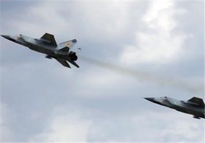 الطائرات الروسیة تغیر للمرة الأولى على مواقع المسلحین فی محیط درعا