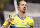 زلاتان: با تیم ملی سوئد به جام جهانی 2018 خواهم رفت