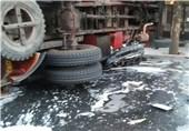 سانحه تصادف سرویس دانشگاه آزاد نجفآباد 2 کشته و 37 مصدوم برجای گذاشت